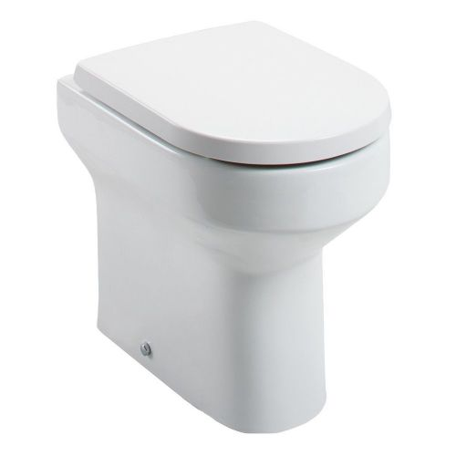 Harmony Comfort Height Back To Wall Pan & Soft Close Seat